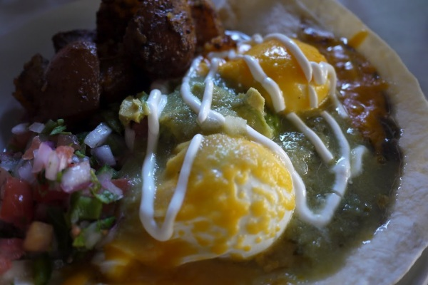 Huevos Rancheros at Harefield Road