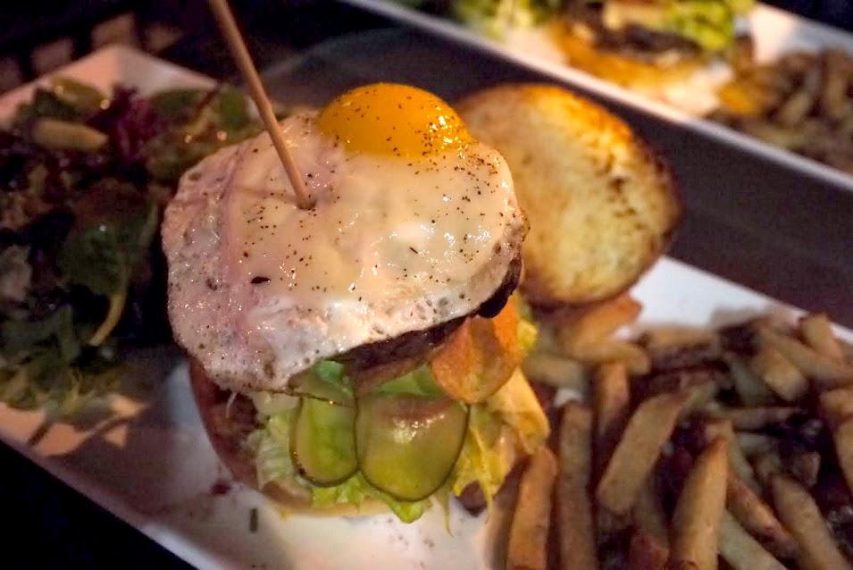 Art brgr's Volcano Burger