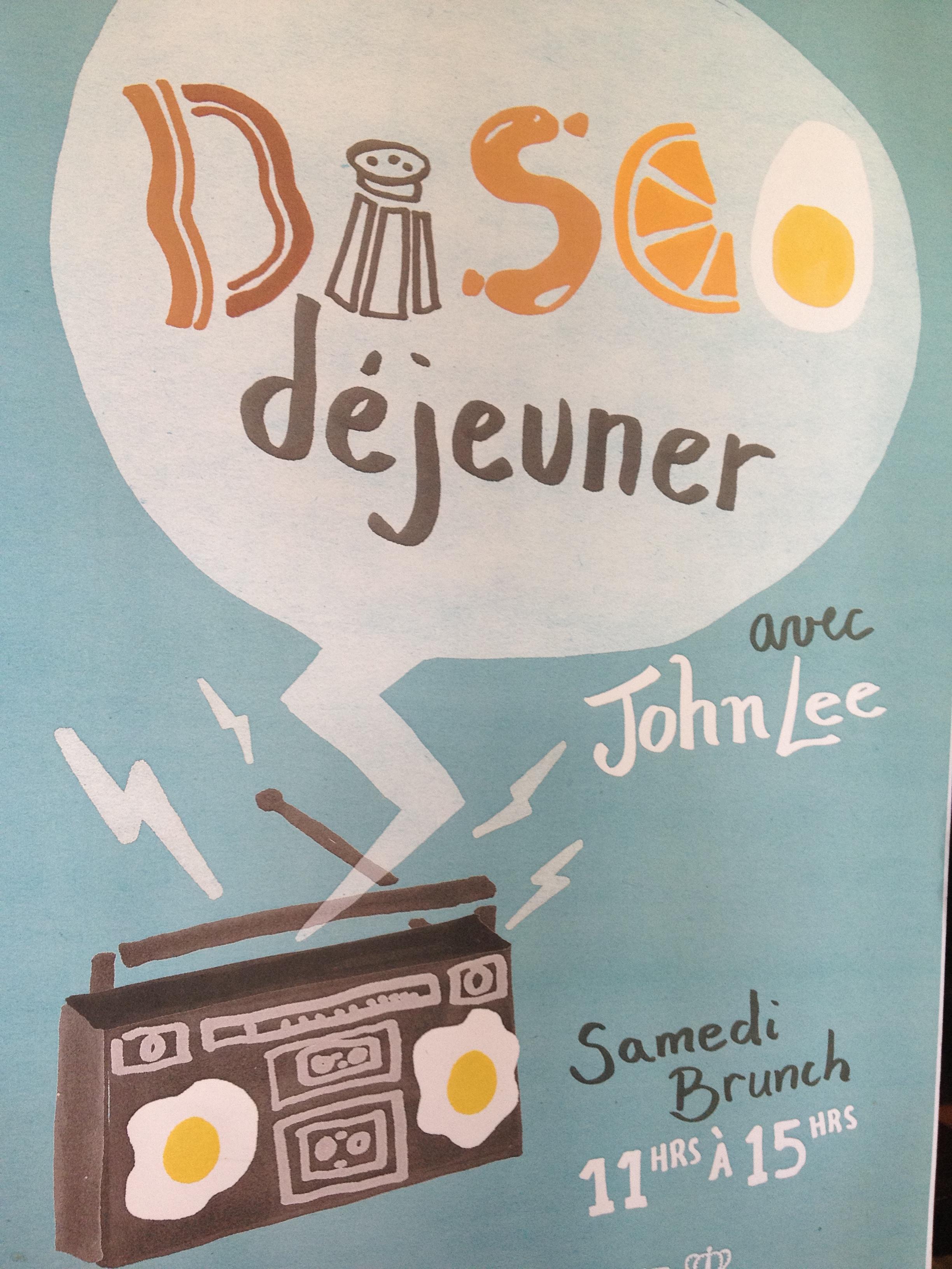 Disco Déjeuner at Nouveau Palais