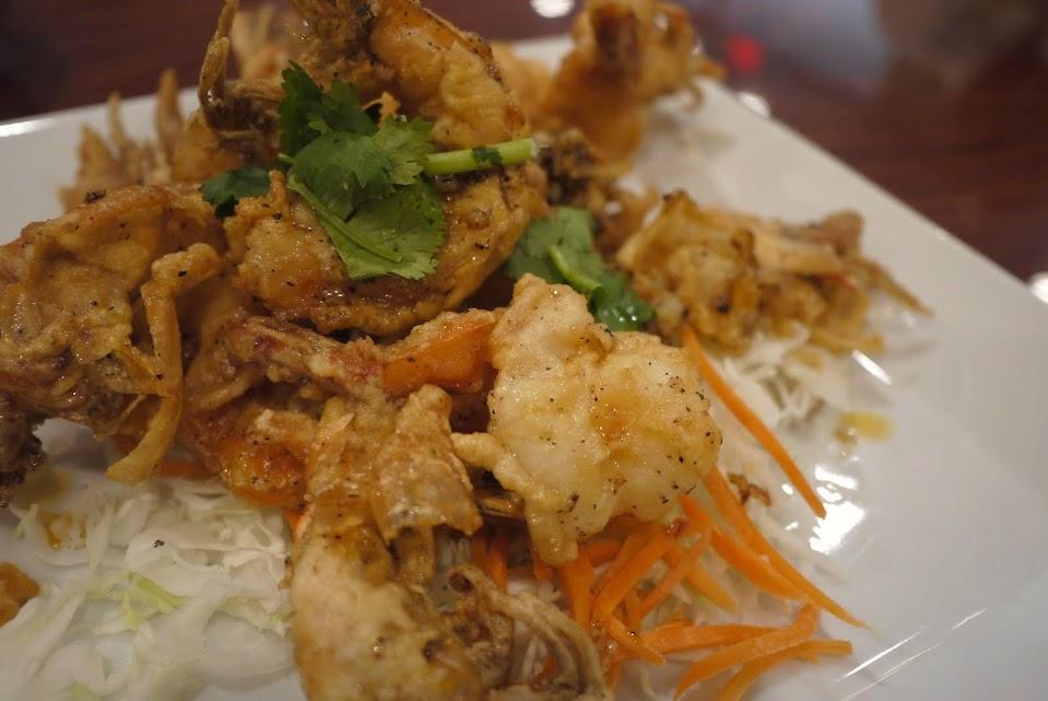 Lotus of Siam's Garlic Prawns