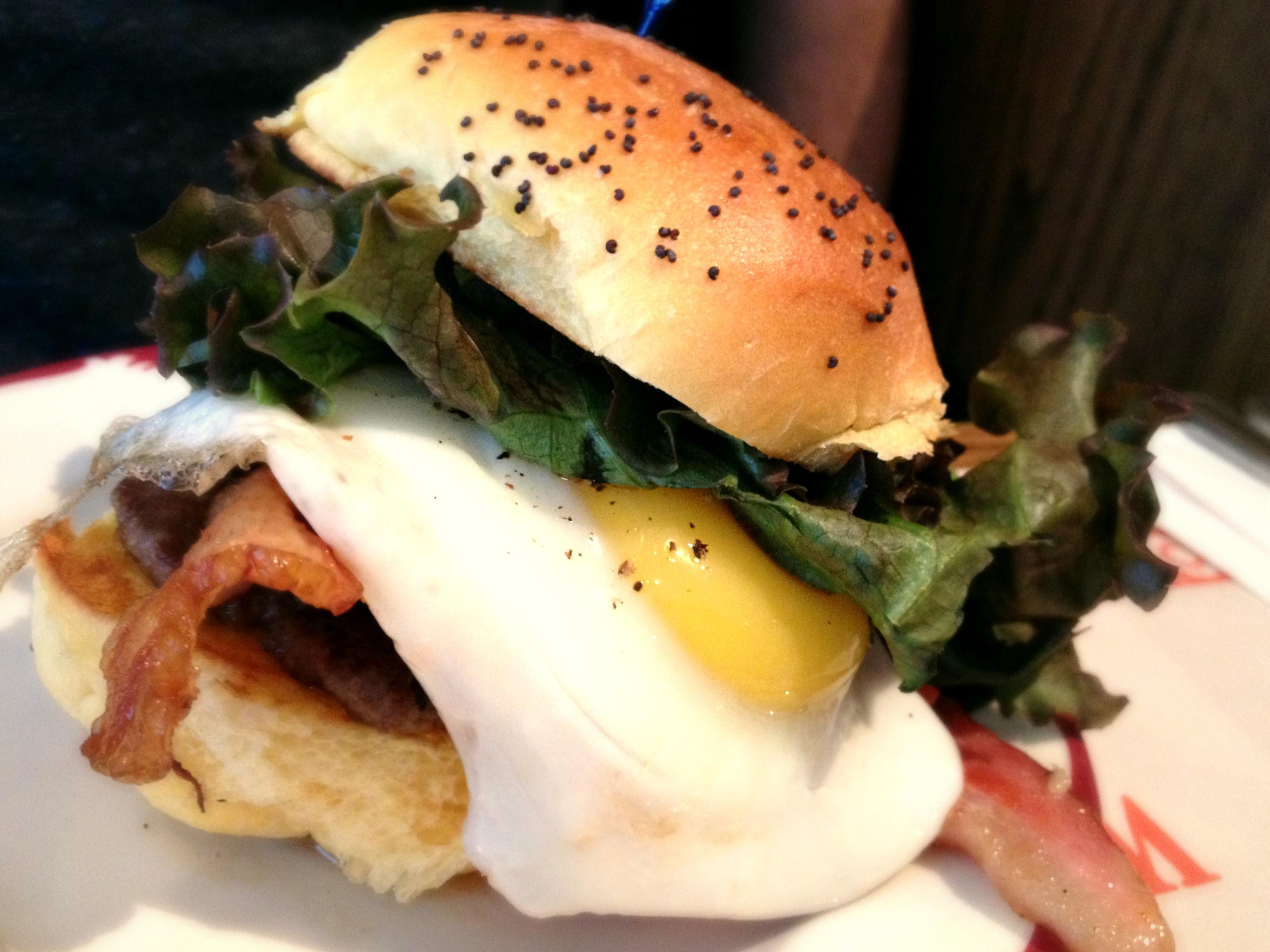 Nouveau Palais'  Breakfast  Burger