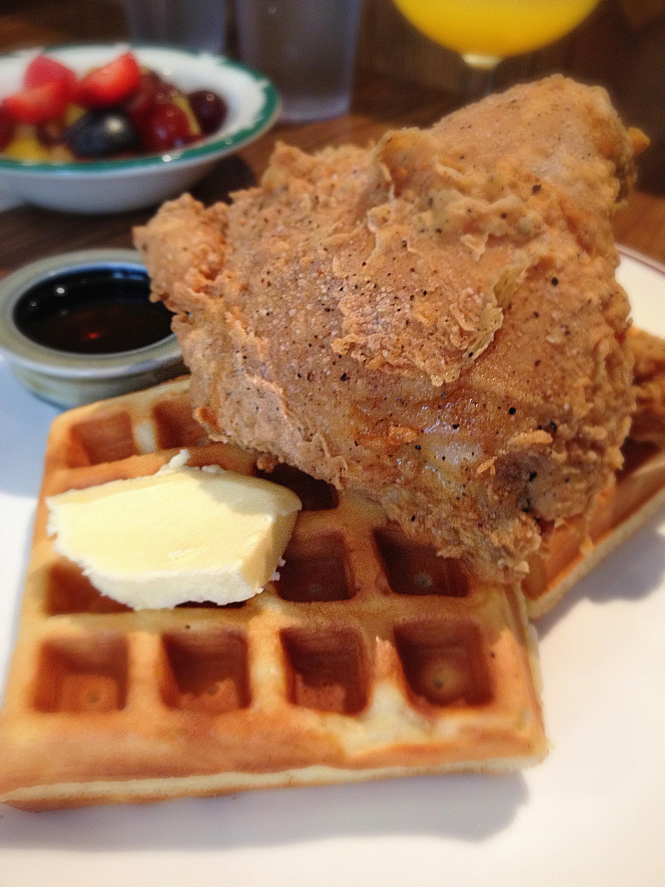 Nouveau Palais' Fried Chicken & Waffle