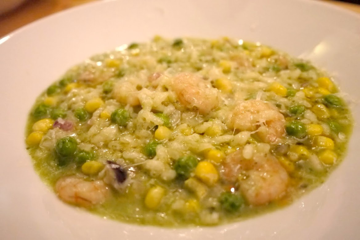 Madre's Shrimp Risotto was tasteless