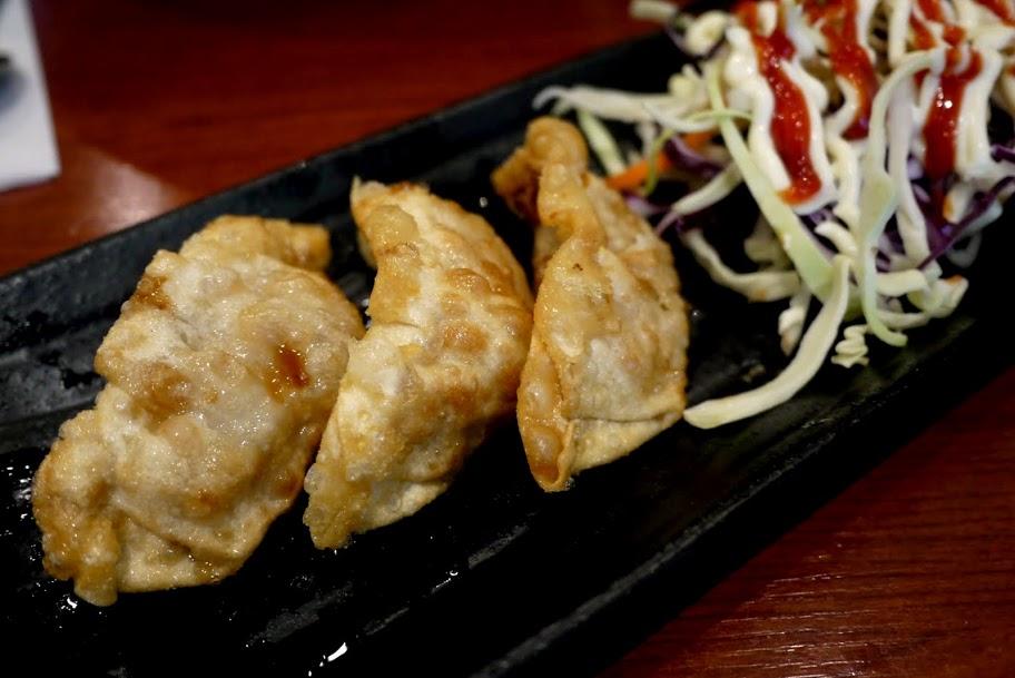 GaNaDaRa's Mandu: fried pork dumplings