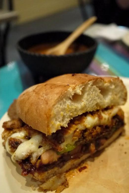 La Matraca Torta:  delicious Mexican sandwich