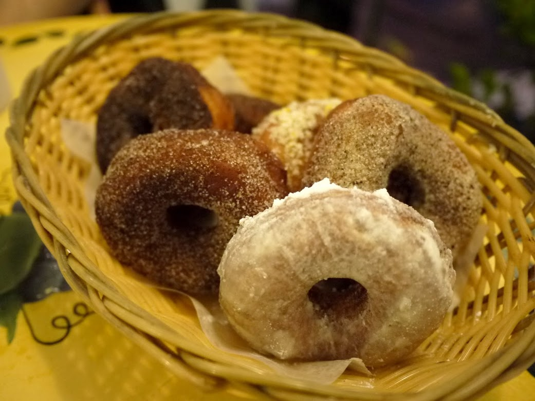 Chez Boris' doughnuts.