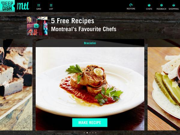 Deep Dish app